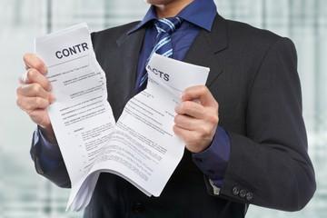 Расторжение договора управления управляющей организацией