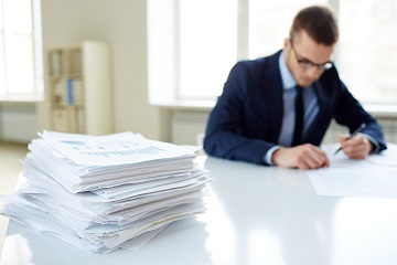 Журнал регистрации больничных листов — образец заполнения